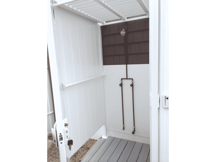 Outdoor Shower Kits Double Shower Stall