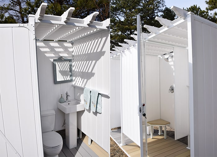Cabana Locker Shower Enclosures For Outdoors Https Www
